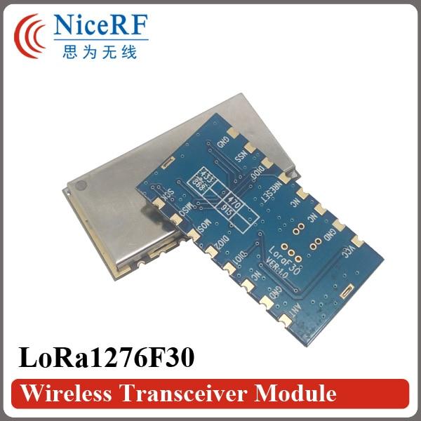 2PCS Lora1276F30 500mW de alta sensibilidade (-120 dBm) Módulo de RF - Equipamento de comunicação - Foto 3