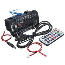 Новинка, 1 комплект, автомобильный Bluetooth усилитель, HiFi усилитель мощности басов, стерео цифровой усилитель, USB TF пульт дистанционного управления для автомобиля, аксессуары для дома