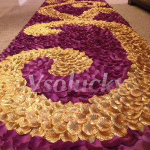 Image 2 - 100pcs משי רוז עלי כותרת שולחן קונפטי מלאכותי פרח תינוק מקלחת אמנות מסיבת חתונת אירועים אספקת קישוט נישואים