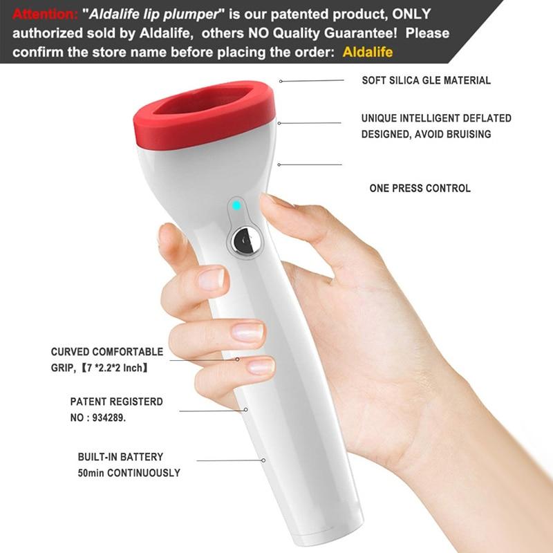 KAISE automatique lèvre plus dodue électrique rehausseur de lèvres Intelligent dégonflé conçu lèvre repulpant dispositif 55