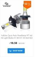 ГЗ kafulee С6 автомобиля светодиодный свет светодиодный лампы Н1 Н3 Н4 Н7 н8 н9 н11 9005 нв3 нв4 9006 9012 авто светодиодный фар светодиодный светильник 72 вт 6000 к 4000lm Сид