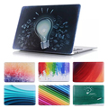 """New Rainbow Gredient Bulb idea Print Hard Cover Case For Apple Macbook Air Pro 11.6"""" 13.3"""" 15.4"""" 12'' With Retina Display"""