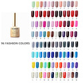 96PCS 8ml Gel Nail Polish UV VEAMOR Gorgeous Color Nail Gel Polish Semi Permanent Top Coat Base Coat Gel Lak Varnishes Gelpolish