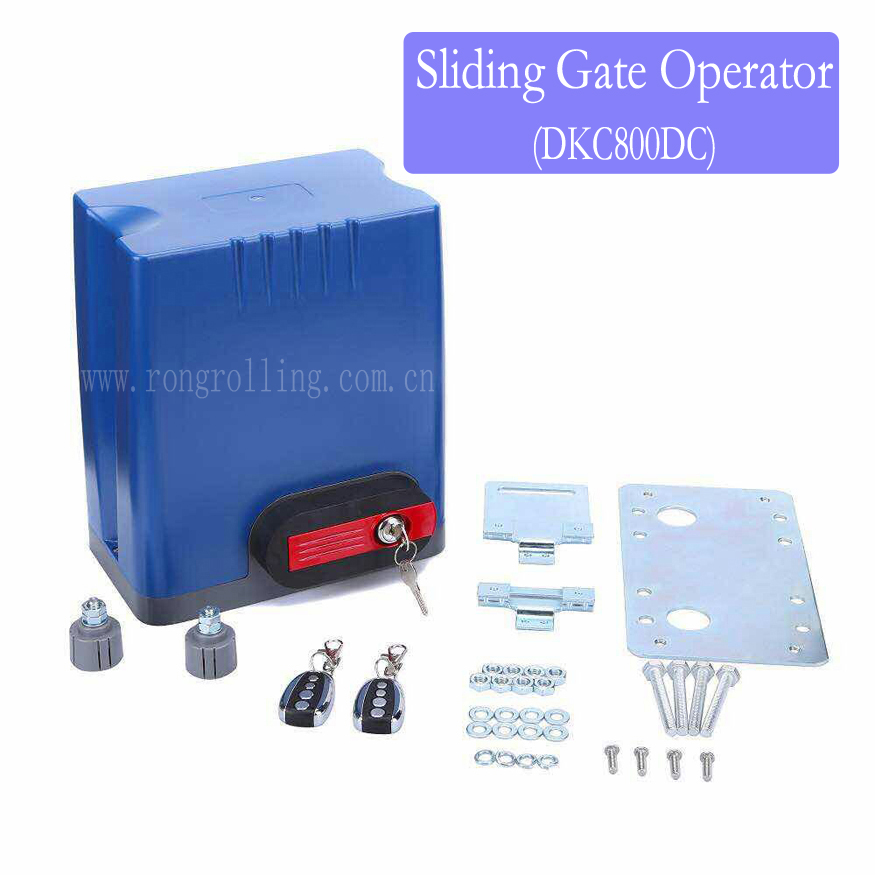 Sliding Gate Opener Motor Capacity 800KG Gate Weight DKC800DC 1set/lot factory cspy s1 new sliding gate motor