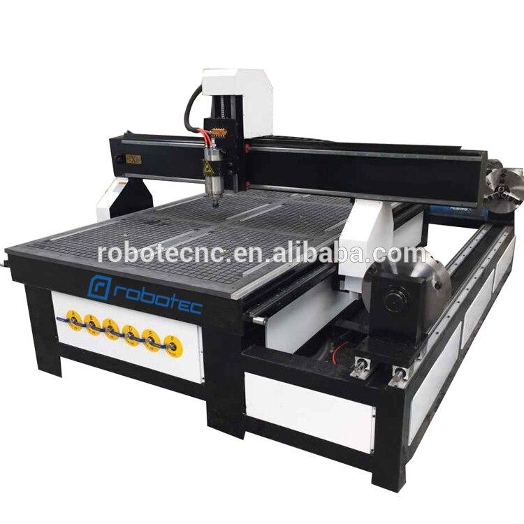 China cheap 1212 1218 1313 1224 1325 wood cnc router 3.0kw 4 axis cnc machine