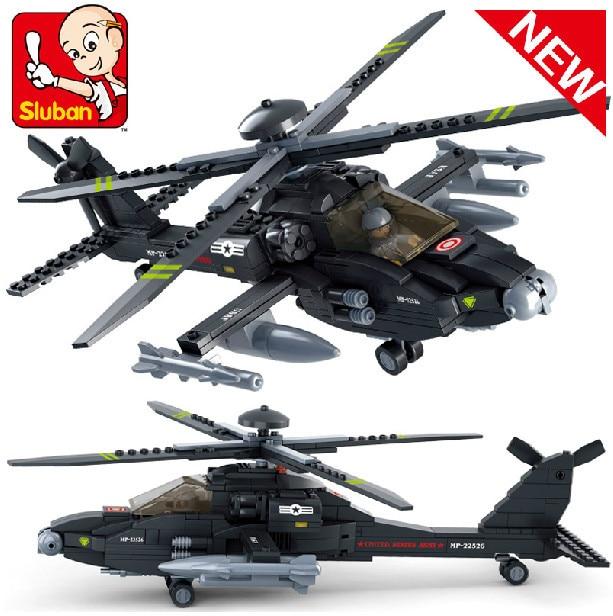 Modelo de Construção Compatível Com lego Lego Sluban B0511 293 pcs Kits de Construção do Modelo Clássico Brinquedos Hobbies Avião Ar