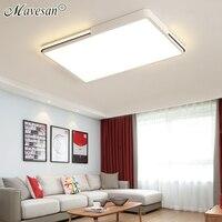 Mavesan Black White Ceiling Lights round Lampshade Ceiling lamp plafonnier for living room bedroom lamparas de techo