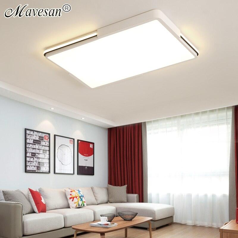 Mavesan Schwarz Weiß Decke Lichter runde Lampenschirm Decke lampe plafonnier für wohnzimmer schlafzimmer lamparas de techo