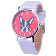 Hot Selling Leather Simple Ladies Watch Casual Quartz Women Watches Luxury Dress Wristwatches Male Clock Relogio Feminino *E(China)