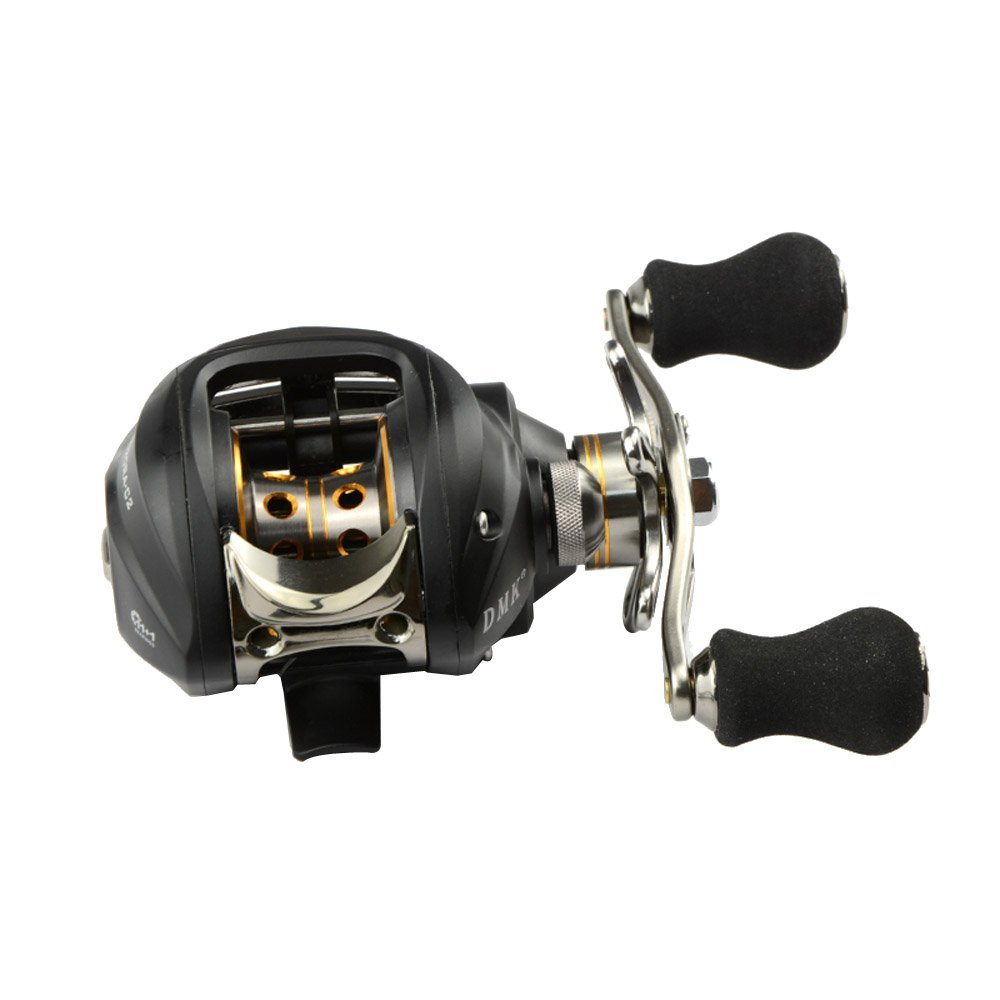 3 Pcs of (12BB 6.3:1 Right Hand Bait Casting Fishing Reel 11Ball Bearings + One-way Clutch High Speed Black) mz15 mz17 mz20 mz30 mz35 mz40 mz45 mz50 mz60 mz70 one way clutches sprag bearings overrunning clutch cam clutch reducers clutch