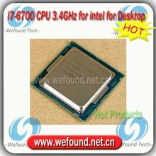 Original for Intel Core i7 6700 Processor 3.4GHz /8MB Cache/Quad Core /Socket LGA 1151 / Quad-Core /Desktop I7-6700 CPU