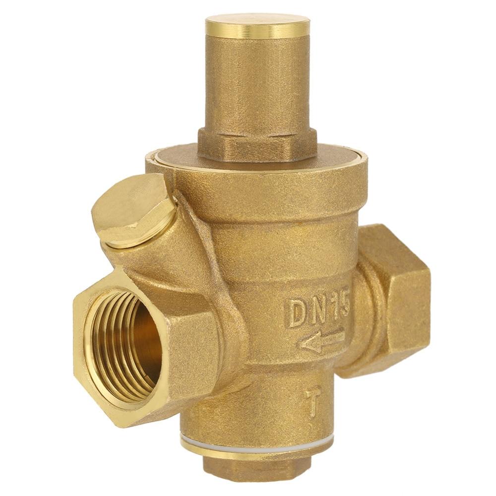 DN15 1/2 Brass Water Pressure Reducing Regulator Valve Adjustable Thread Water Pressure Reducing Valve