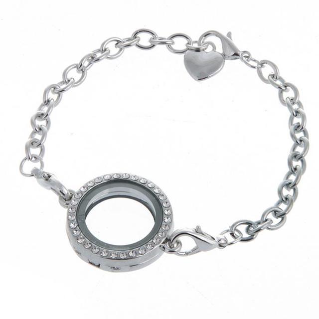 Female Charm Bracelet Women Luxury Brand New DIY Photo Frame ...