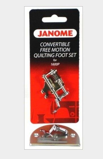 JANOME maison-utiliser broderie machine à coudre pied-de-biche et aiguille plaque paquet 767433004