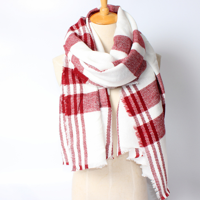 Two Tone Striped Scarf | Shawls & Wraps
