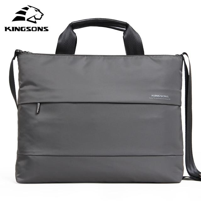 Kingsons 13.3'' 15.4'' inch Laptop Handbag Waterproof  Women Crossbody Bags Shoulder Messenger Bag Ladies Girls Handbags