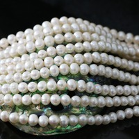 High Quality White Natural Freshwater Cultured Pearl Loose Beads Approx Round Diy Jewelry Making 15inch B1328