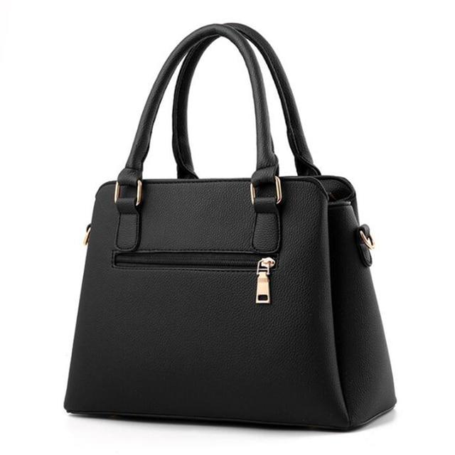 Top Handle Tassel Tote Bag 2
