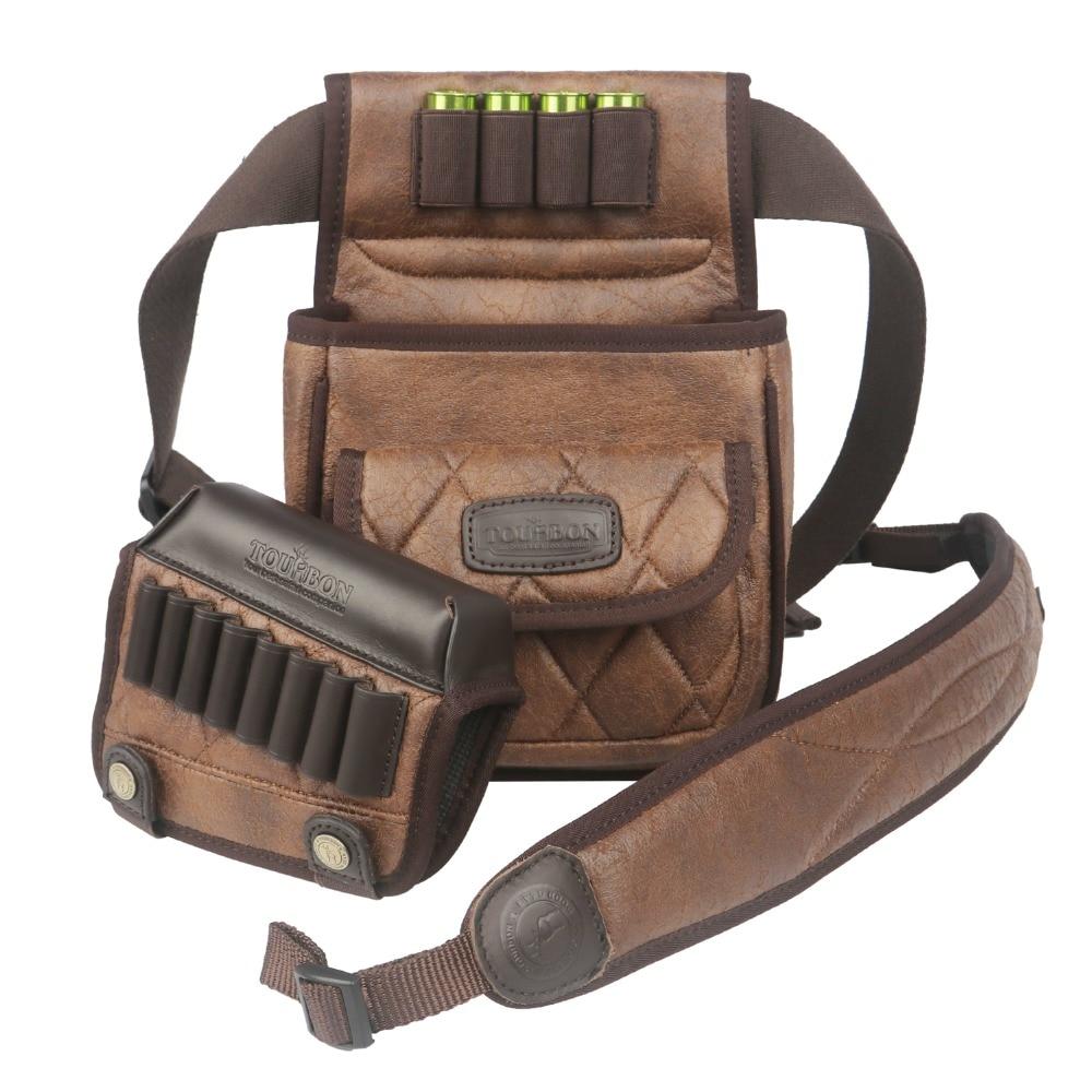 Tourbon Hunting Gun Accessories Shotgun Speed Loader Game Bag Rifle Cheek Rest Cartridges Holder Gun Sling
