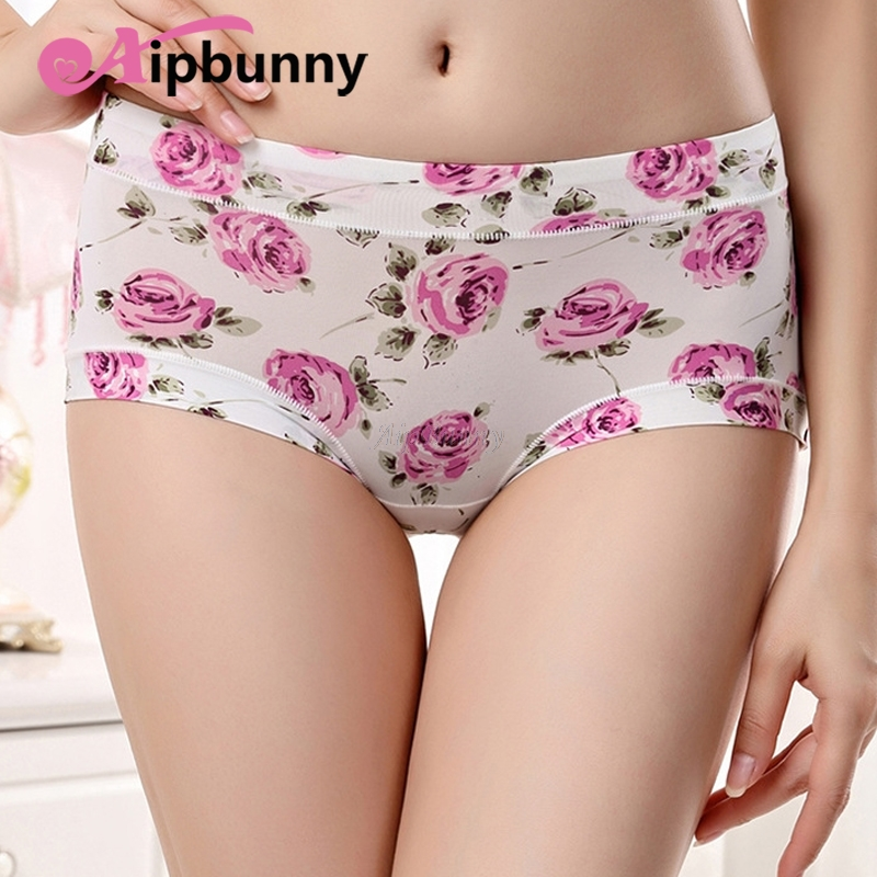 3b5b192fe1fc2 AipBunny Silky Smooth Floral Sexy Seamless Women Panties Underwear in-Shapewear  Hip Push up Girl