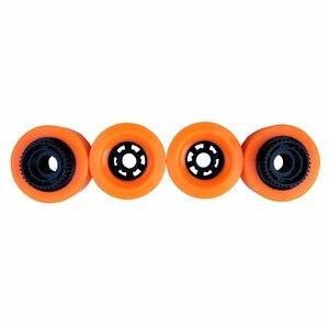 Image 1 - 1pc 90mm Elektrische Skateboard Pu Räder Mit Getriebe E skateboard Räder Longboard Räder SHR83A Härte 90X52 Hohe rebound