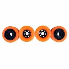 Rodas de skate elétrico de 90mm 1 peça, rodas de pu com engrenagem, e skate, rodas longas, shr83a, dureza 90x52 alta rebote