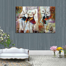 Pure Hand-painted Abstract Oil Painting on canvas Dancer (NO Frame)