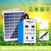 Мини солнечная панель генератор портативный солнечный генератор Железный корпус для хранения солнечной энергии 12 В блок питания для работ