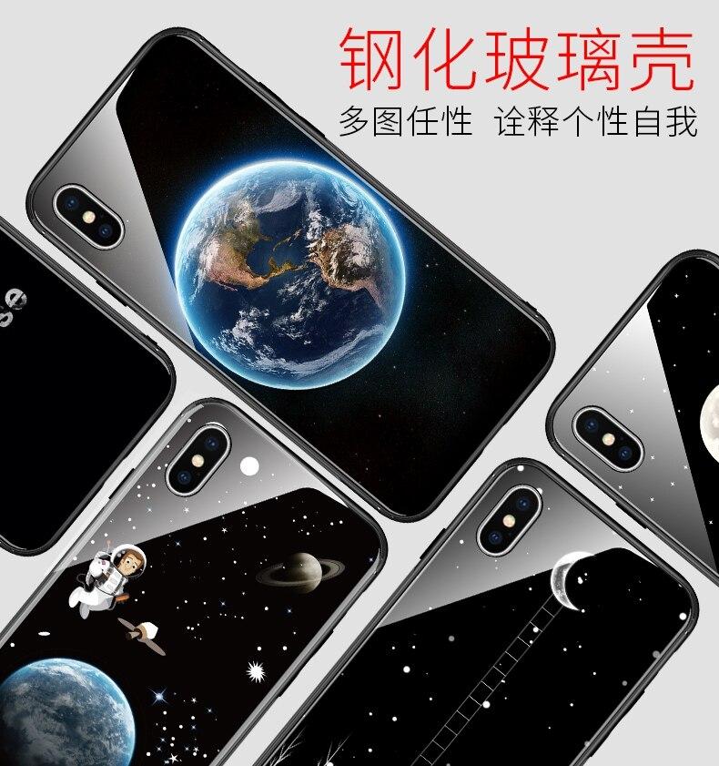 BotexBling Einfache fashion floral glas telefon fall für iphone Xs max fall für iphone X 7 7 plus 8 8 plus 6 6 s plus 6 plus zurück abdeckung