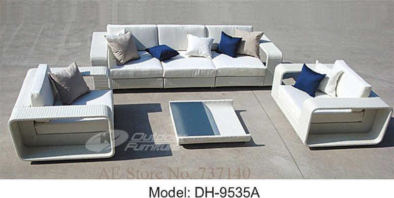 muebles de ratn jardn muebles de exterior sof blanco sof de ratn muebles de jardn sof de la sala de estar muebles agente