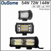 NEW 26inch 360w Double Rows Tri Rows 4X4 Car Combo Beam Waterproof Truck Work Light Car