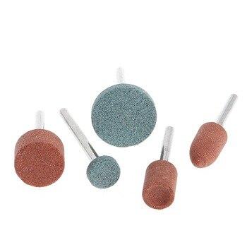 цена на 5Pcs 3mm Shank Wheel Head Grinding Polishing Electric Grinder Head