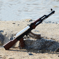 AK 47 Electric Toys Gun Bursts Water Guns Bullet Manual Rifle Pistol Outdoor Live CS Cosplay Game Weapon Orbeez Shoot Plastic AK