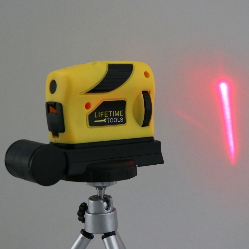4in1 360 ° Rotary Laser Level Selbst Nivellierung Kreuz Linie Mess + Stativ 649E