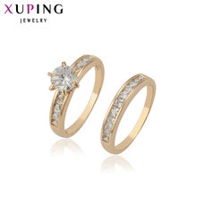 Xuping Fashion Ring High Quality Classical Charming Love' s Ring for Men Women Jewelry Valentine's Day Gifts 12888(China)