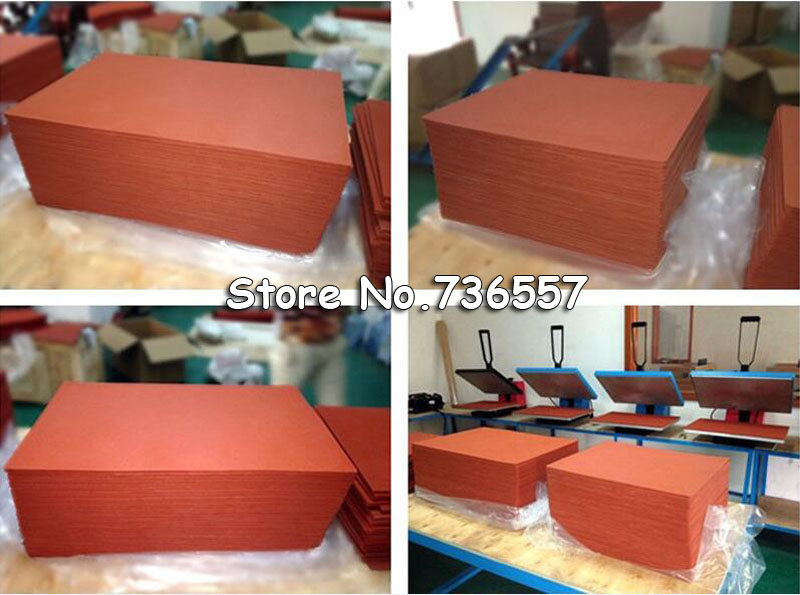 1pc 50*50cm Silicone Baking Mat Rubber Silica Gel Pad for Heat Press Printing Machine стоимость