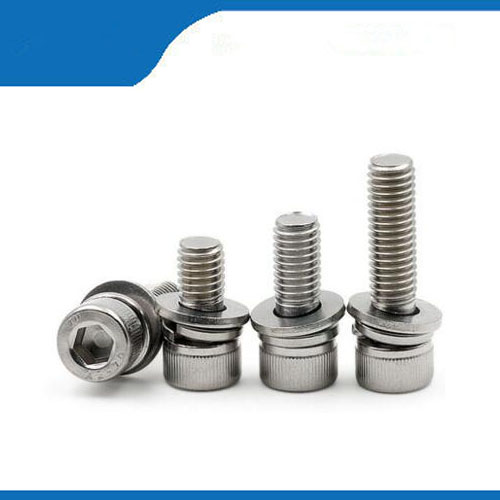 Free shipping 50pcs M3 14mm M4*14mm 304 Stainless Steel Inner Hex Bolt Hexagon Socket  Washer Sems Assembly combination Screw 10 50v 100a 5000w reversible dc motor speed controller pwm control soft start high quality