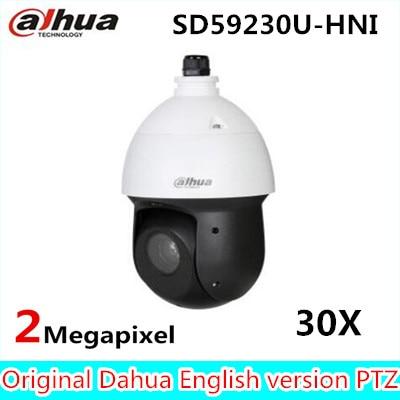 2016 Latest new 2MP 30x Starlight IR PTZ Network Camera Auto-tracking SD59230U-HNI,free DHL shipping цена и фото