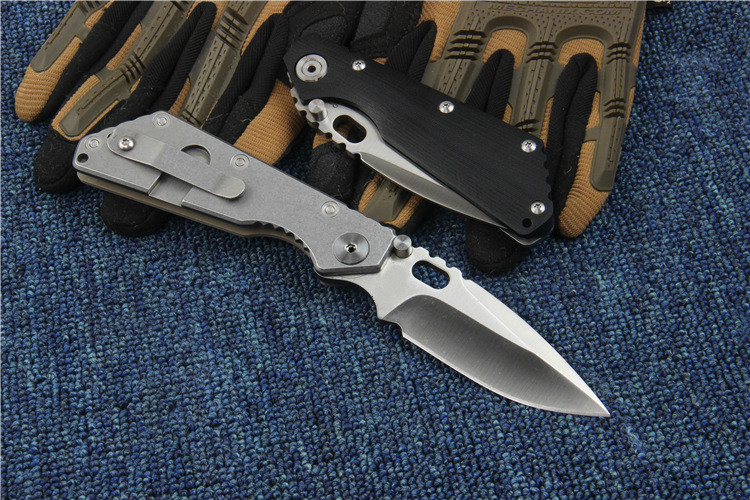 EF 025 Folding Knife 5Cr13Mov Blade Steel G10 Handle Tactical Pocket Camping Knives Survival Outdoor Hunting Knife EDC Tools in Knives from Tools