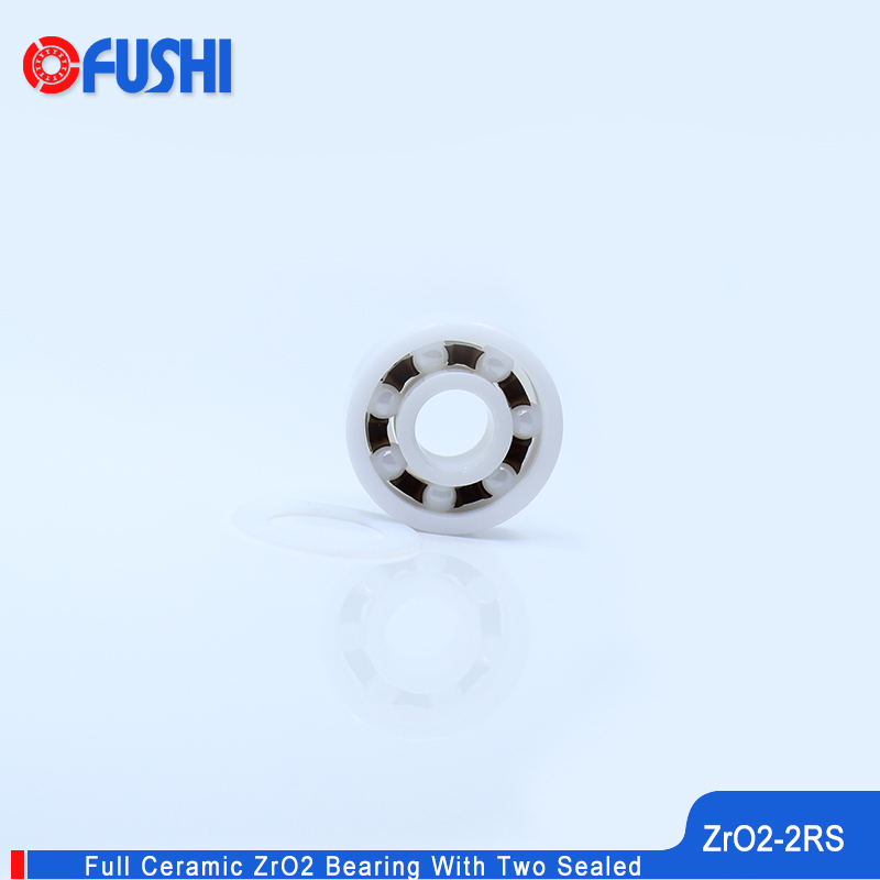 6201 Full Ceramic Bearing ZrO2 1PC 12*32*10 mm P5 6201RS Double Sealed Dust Proof 6201 RS 2RS Ceramic Ball Bearings 6201CE цена