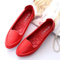 2017 New Fashion Women Flats Leisure Woman Casual Shoes Moccasins Loafers Solid Driving Concise Soft Bottom Flat Mother's Shoes