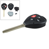 4 Buttons 314Hz Replacement Remote Car Key Fob Transmitter Clicker Alarm With 67 Chip For Toyota