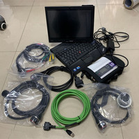 super mb star c4 diagnostic tool with software ssd fast speed laptop x201t i7 4g tablet full cables ready to use