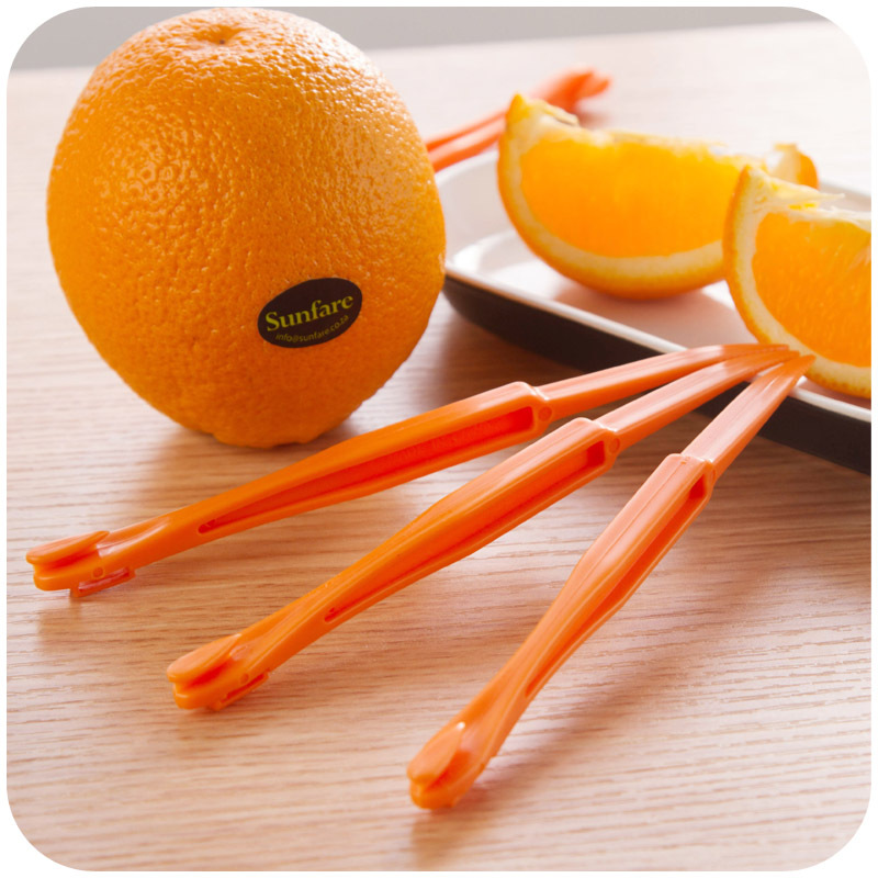 hot sale creative long section orange peeler peel orange juice compact and practical helper
