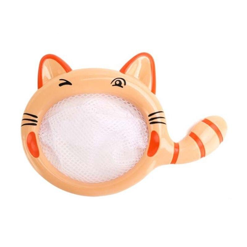 Cute Animal Cartoon Cat Fishing Net Baby Bathing Time Water Pool Toys For Kids Children