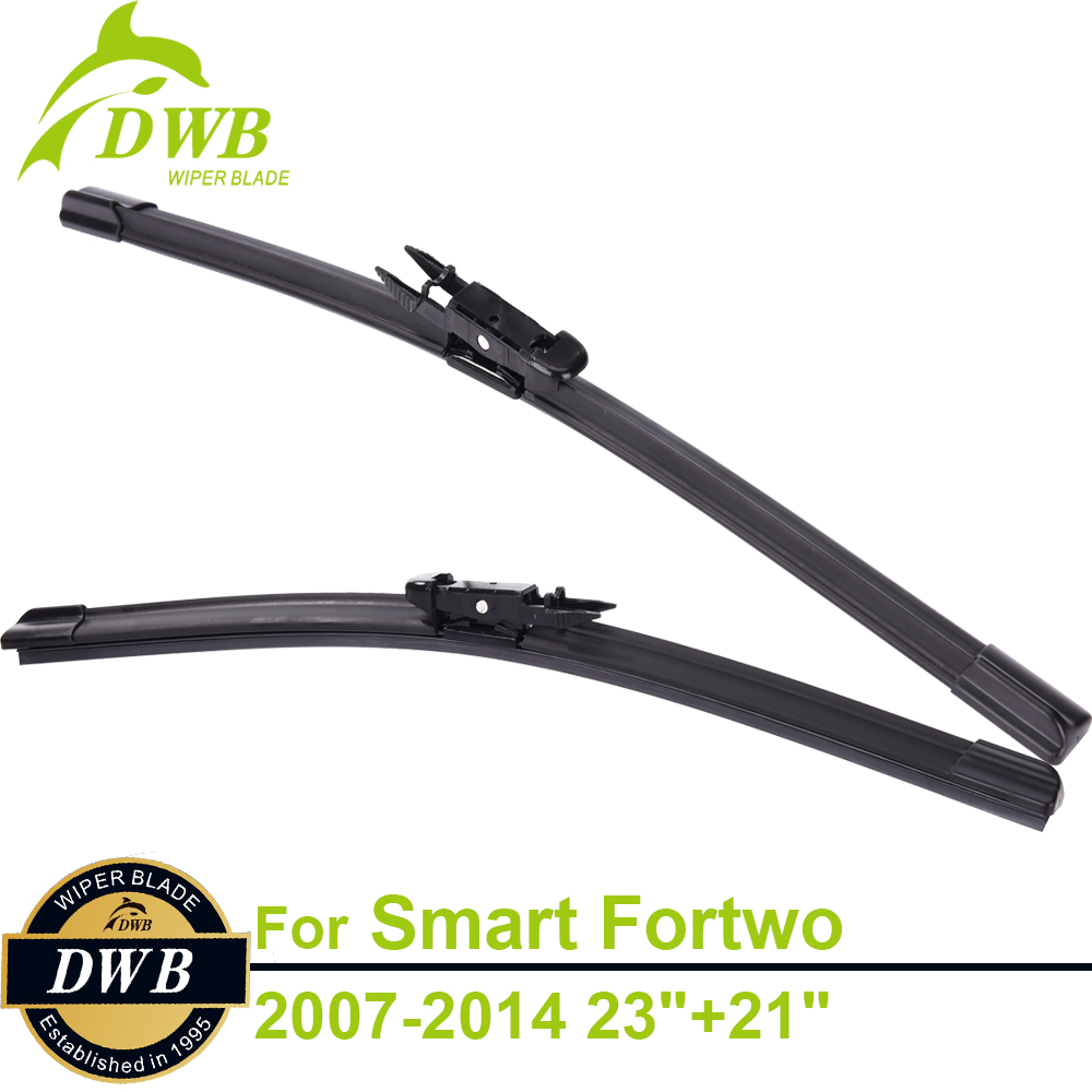 Wiper blades for smart fortwo cabrio coupe 2007 2014 23 21