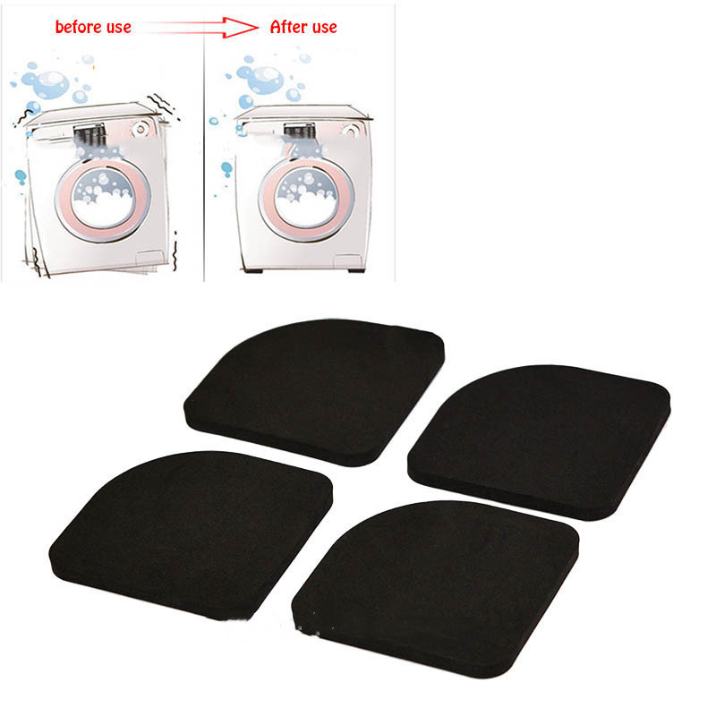 Stand For A Washing Machine Anti-Vibration Pad Shock Pads  For Washing Machine Non-slip Mats Refrigerator Multifunctional 4pcs