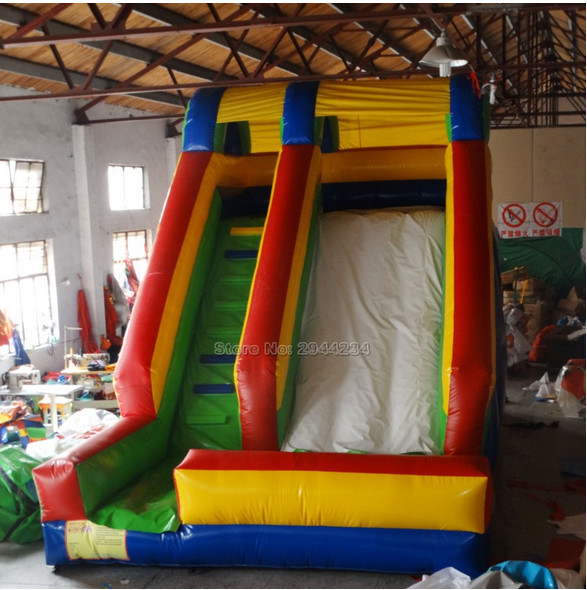 Outoor kids playground  Inflatable bouncer house with Slide free blower yard free shipping in stock tiny bouncy castle pretty inflatables slide bouncer with blower kids playground