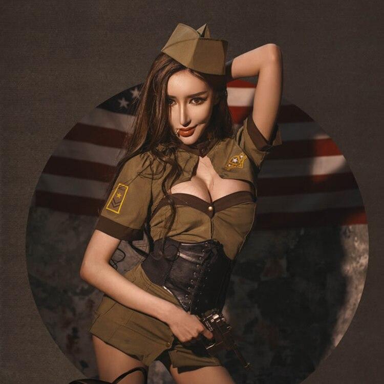 Women sexy soviet uniforms