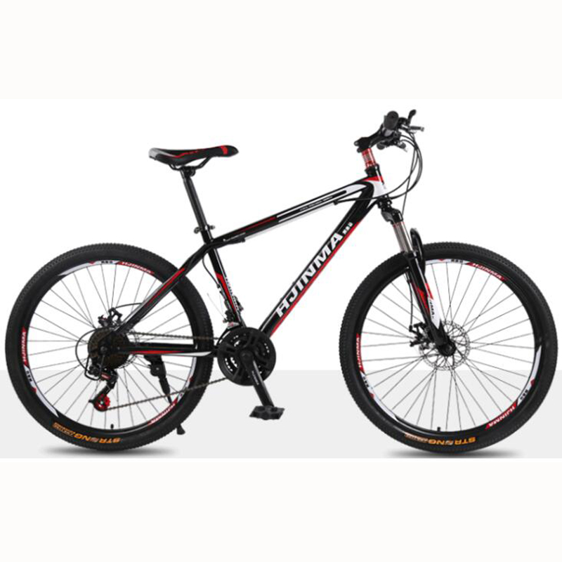 Manufacturers Selling High Carbon Steel Material 24 Speed Double Disc Brake Comfortable Bicycle Accessories Mountain Bike